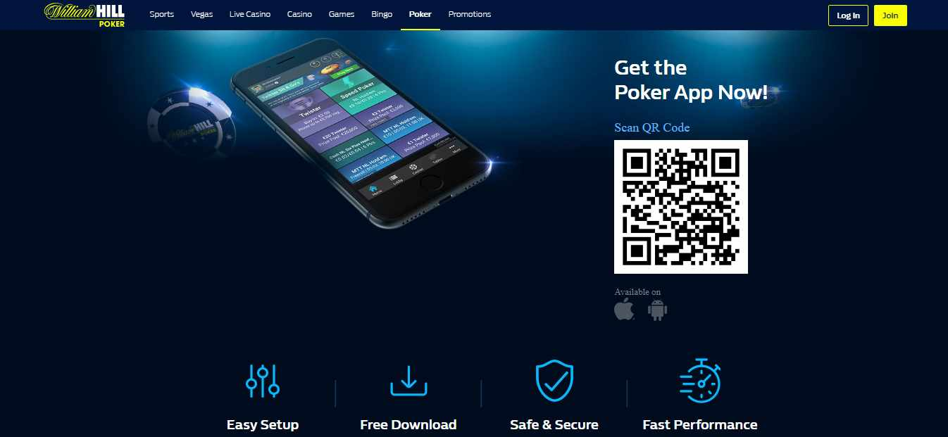 William Hill mobile download