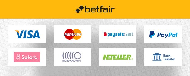 Deposit and Withdrawal Betfair