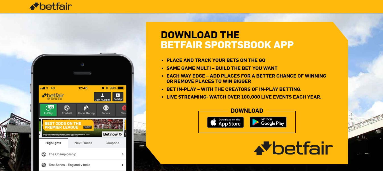 Mobile Betfair App for Android
