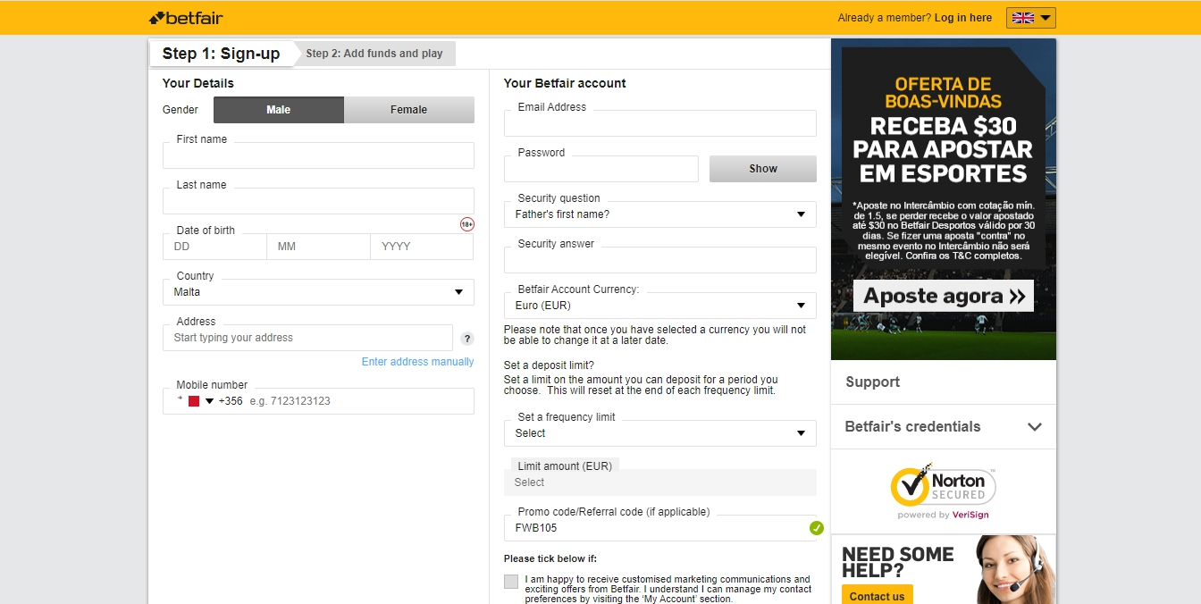 Betfair Login Nigeria